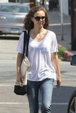 Natalie Portman strolled around LA.