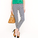 How classic are these retro-inspired polka-dotted pants? Audrey Hepburn in Roman Holiday here we come.