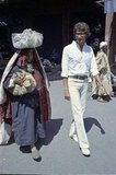 On a trip to a Marrakech marketplace in 1972.
