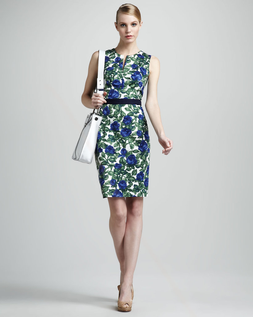 Jenny's style evolution includes lots of formfitting, boldly printed dresses. We love the sleek silhouette on this one, and it'll work well with a coat and boots once chilly weather hits. Milly Floral-Print Sheath ($122, originally $350)