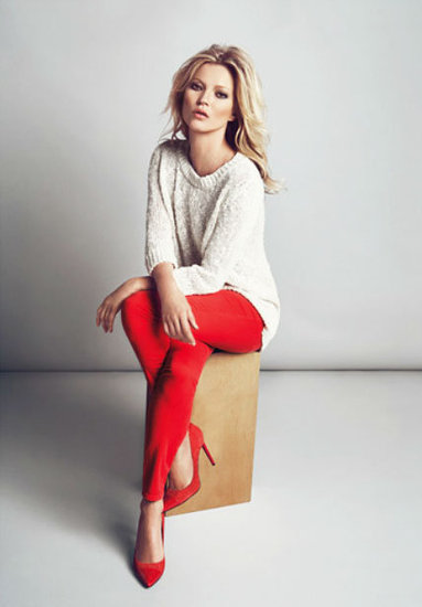 Mango's A/W 2012 Look Book Gets the Kate Moss Treatment
