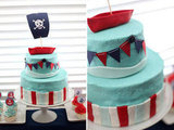 Nautical Pirate Cake