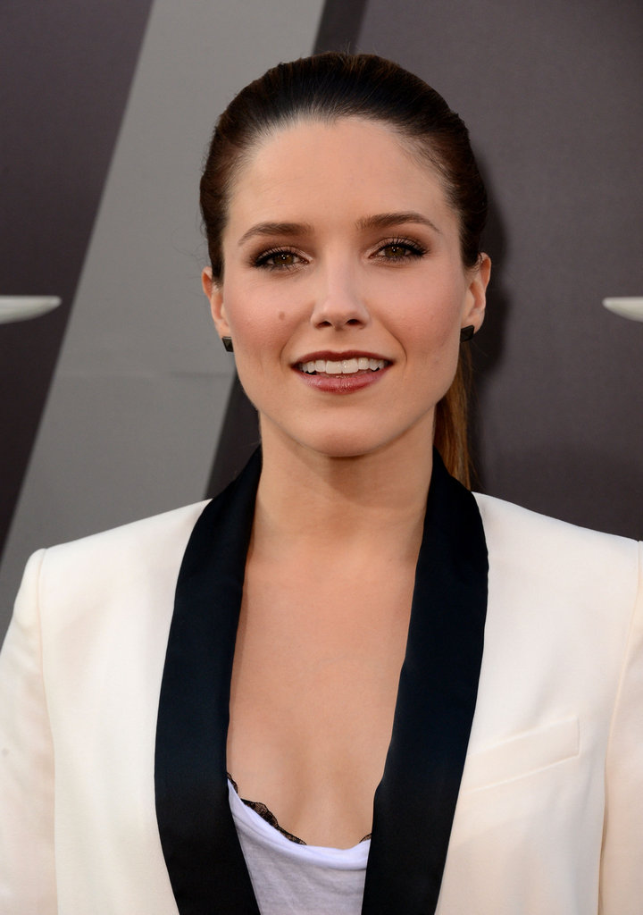 Sophia Bush was in attendance at the Total Recall premiere in LA.
