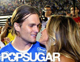 Tom Brady and Gisele Bundchen were very affectionate during their March 2011 visit to Brazil.