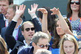 Prince William and Kate Middleton enjoyed themselves at the Men's Singles Tennis Quarterfinals.