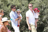 Neil Patrick Harris and David Burtka were all smiles with Gideon Burtka-Harris and Harper Burtka-Harris in Saint-Tropez.