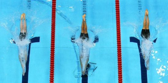 How Swimmers Work With Fluid Dynamics