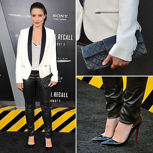 We've Got a Girl Crush on Sophia Bush's Borrowed-From-the-Boys Tux