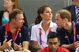 The Duke and Duchess of Cambridge took in some cycling on day six.