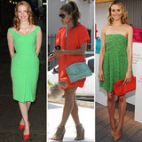 Celebrities Pair Orange and Green Together, and You Should, Too!
