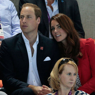 Kate Middleton in Polka Dots at the Olympics