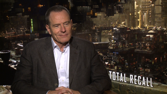 Bryan Cranston Talks the Timely Total Recall and Its Link to Breaking Bad
