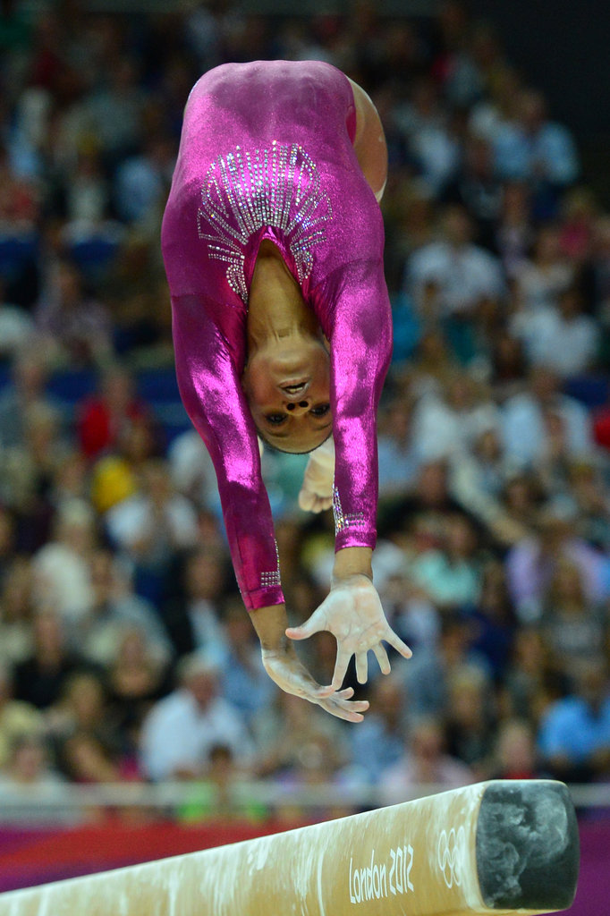 """Gold medals are made out of your sweat, blood, and tears."" — Gabby Douglas on what it takes to get the gold"