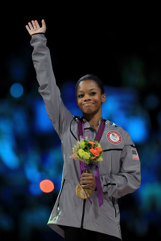 """If you have the dedication, drive, and determination, then you're there and you have it. You just have to be yourself and go full with confidence and be courageous!"" — Gabby Douglas on staying true to yourself"