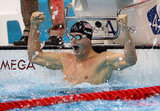 US swimmer Tyler Clary was shocked after winning the gold in the 200m backstroke final.