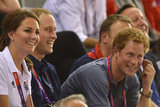 Prince Harry enjoyed himself.