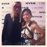 Alison caught up with Michelle Phan in Myer — stay tuned for the interview on BellaSugar soon!