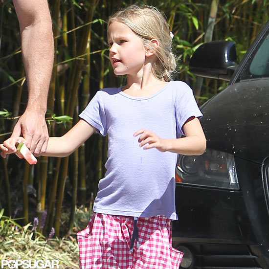 Violet Affleck went out in LA.
