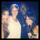 Randy Jackson took in a burlesque show with Jennifer Love Hewitt. Source: Instagram user yo_randyjackson