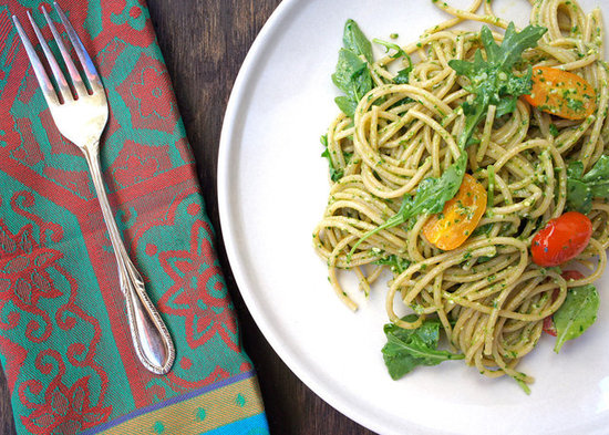 Whole Wheat Arugula Pesto Pasta