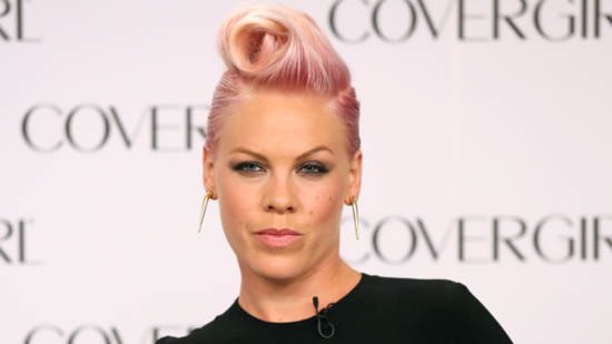 Pink Revealed as CoverGirl's New Spokeswoman