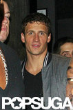 Ryan Lochte celebrated his Olympics run at Chinawhite nightclub in London.
