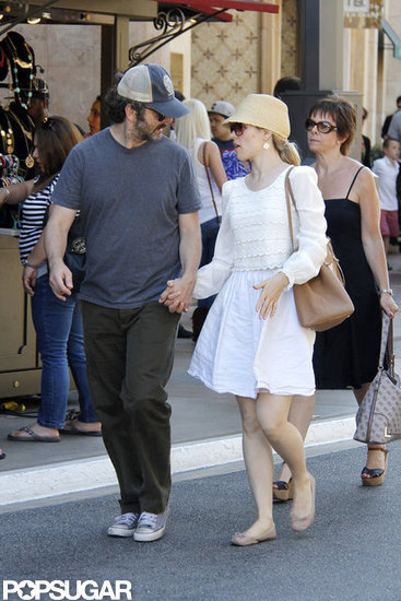 Rachel McAdams and Michael Sheen Spend a Casual Sunday at The Grove