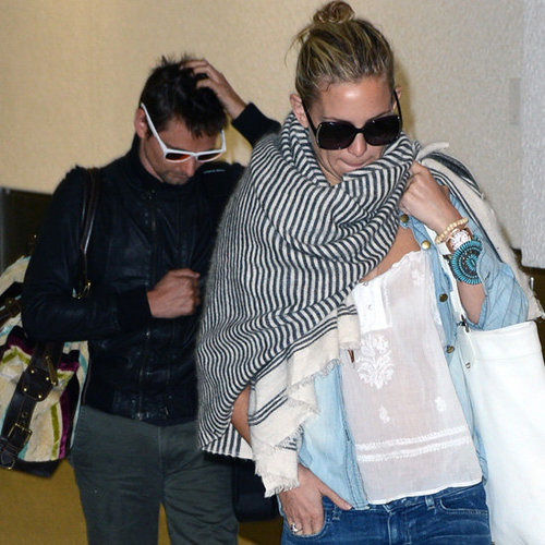 Kate Hudson and Matt Bellamy Arrive in Miami | Pictures