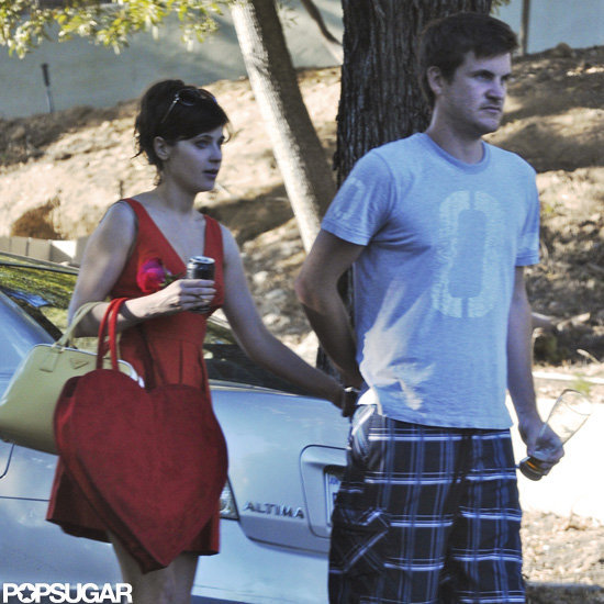 Zooey Deschanel with boyfriend Jamie Linden.