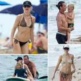 Bikini-Clad Gwen Stefani Shows Off Chiseled Abs at the Beach