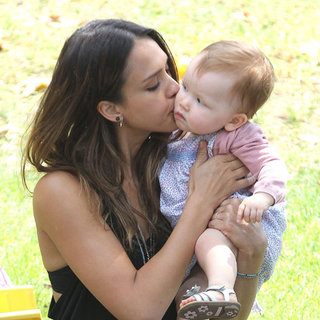 Jessica Alba and Haven Warren at Park | Pictures