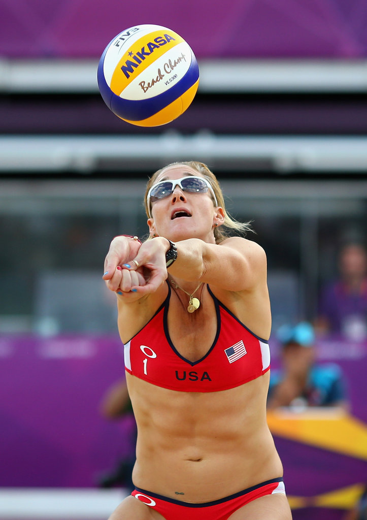 """""""If you are not prepared, you cannot work out intensely. If you do not perform, you cannot get results, and if you can't do your best to recover, you won't get the benefits of your hard work."""" — Kerri Walsh on exercising in extreme conditions"""