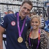 Shawn Johnson posed with Ryan Lochte. Source: Instagram user shawnjohnson