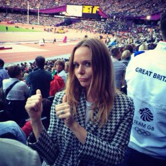 Stella McCartney's Olympic Instagrams