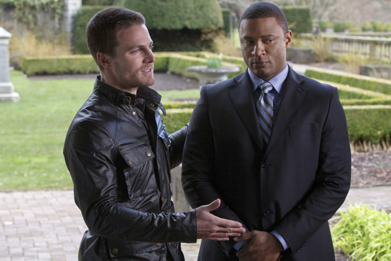 David Ramsey as Diggle on Arrow.