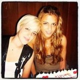 Samantha and Charlotte Ronson celebrated their birthday. Source: Instagram user samantharonson
