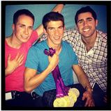 "Megan Rossee took a photo of Michael Phelps and his medals in August with the caption, ""Some of my favorite boys . . .  Watch out ladies."" Source: Instagram user MeganRossee"
