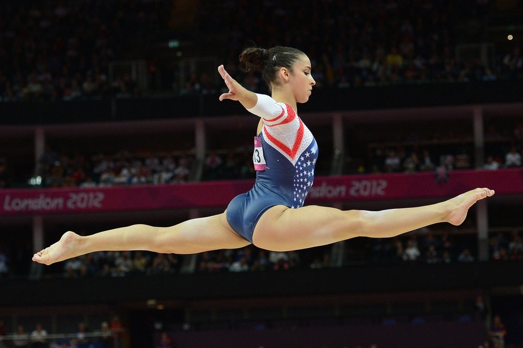 """I have to keep my feet on the ground. I've had a really great time in London and this is a really special moment for us all. I hope we can inspire a generation.""   — Aly Raisman on staying humble after the team win"