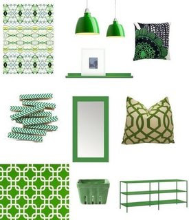 Kelly Green Decor For St. Patrick's Day