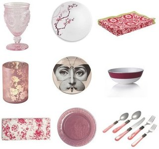 Pink Valentine's Day Tabletop Decor