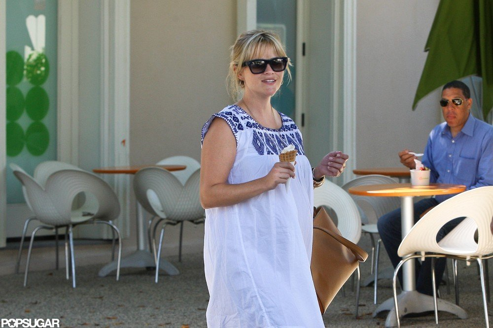 Reese Witherspoon got a sweet treat.