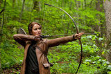 Jennifer Lawrence showed off her archery skills as Katniss Everdeen in The Hunger Games. Photo courtesy of Lionsgate