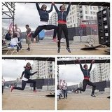 USA track stars showed off their jumping skills. Source: Instagram user todayshow