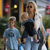 Kate Hudson With Sons in London | Pictures