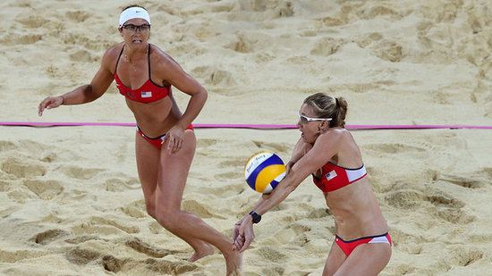 Video: Misty May-Treanor and Kerri Walsh Go For Third Gold — See How They Did!
