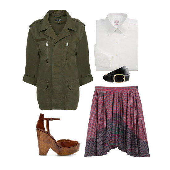 3 Clever Ways to Wear a Schoolgirl Classic