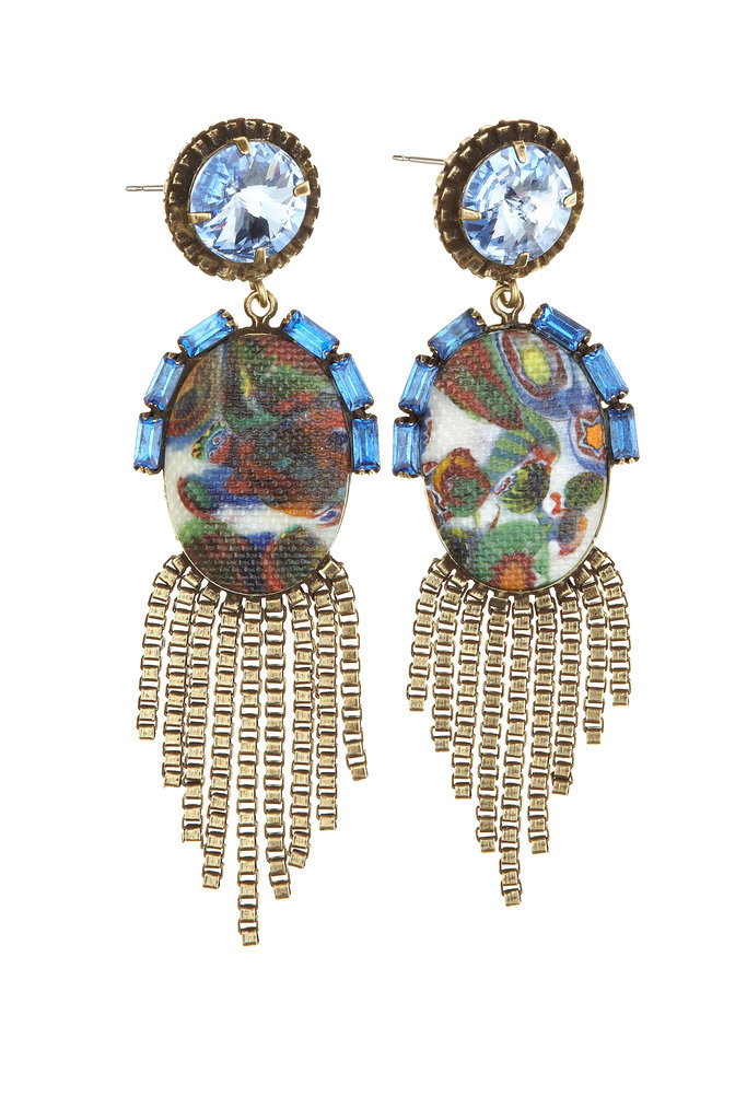 Calypso Loves Dannijo Milo Earrings ($325)