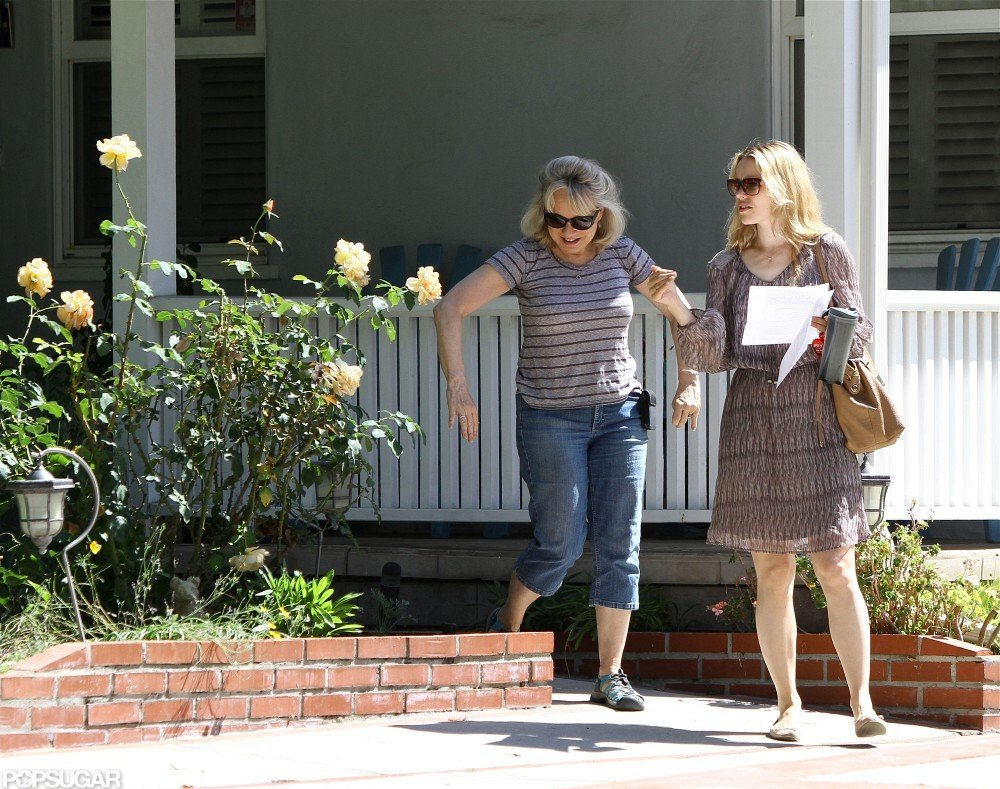 Rachel McAdams was accompanied by a friend while running errands.