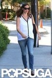 Jennifer Garner sported shades in Brentwood.