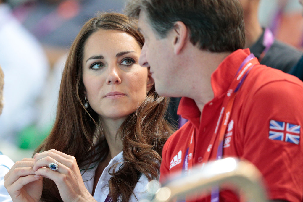 Kate Middleton chatted with Ambassador Robin Cousins.